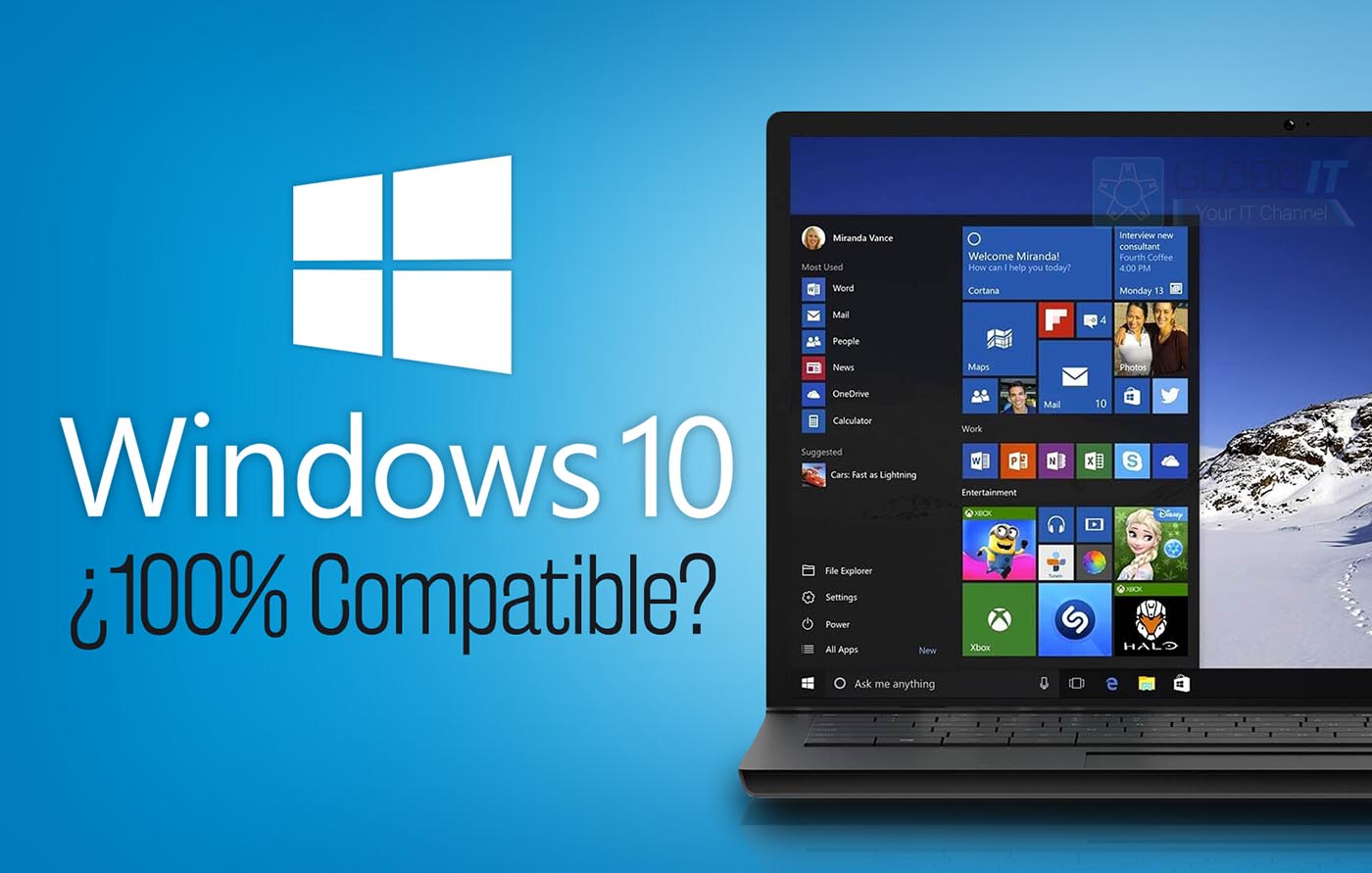Es Windows 10 Compatible Con Programas Antiguos Globbit