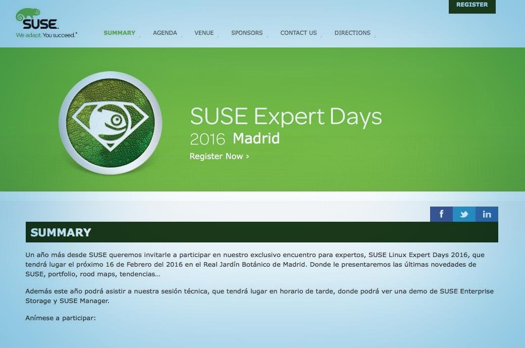 Captura Suse expert days