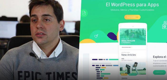 """King of App, el """"WordPress"""" de las apps, se postula como el estándar para creación visual de apps móviles"""