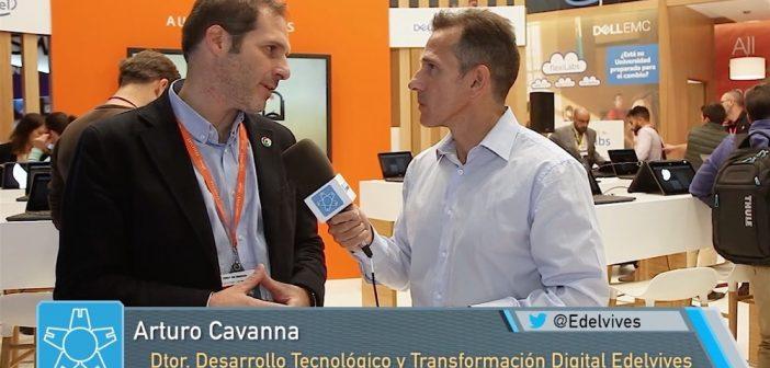 """Arturo Cavanna, Grupo Edelvives: """"La alizanza con Dell EMC nos permite un acercamiento global a los centros educativos"""""""