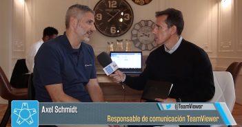 """Axel Schmidt, TeamViewer, """"en 20 meses hemos añadido 500 millones de instalaciones de TeamViewer"""""""