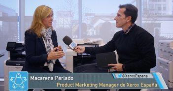 """Macarena Perlado, Xerox: """"no vendemos impresoras sino dispositivos que se integran en el flujo de trabajo del negocio"""""""