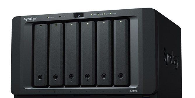 Synology presenta su servidor NAS DiskStation DS1618+ con 6 bahías para PYMEs