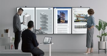 Microsoft presenta su nueva pantalla colaborativa Surface Hub 2