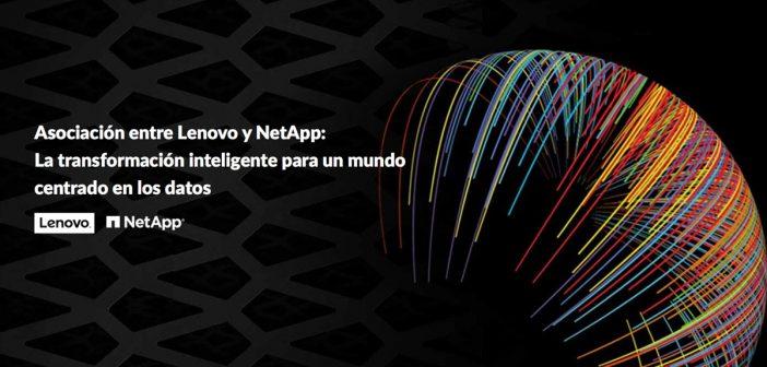 Lenovo y NetApp crean una alianza para fabricar sistemas de almacenamiento y el ecosistema cloud