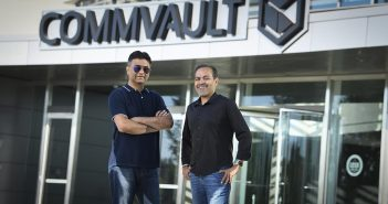Avinash and Sanjay Commvault