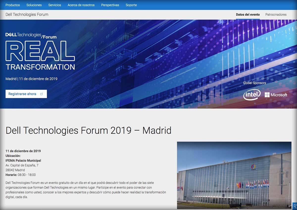 Web Dell Technologies Forum