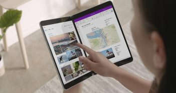Microsoft Surface Neo con doble pantalla