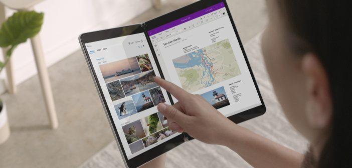 Microsoft Surface Neo con doble pantalla