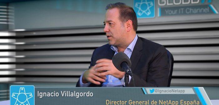 """Ignacio Villalgordo, NetApp: """"con Keystone llevamos al máximo la flexibilidad en la forma en que comercializamos nuestras soluciones"""""""