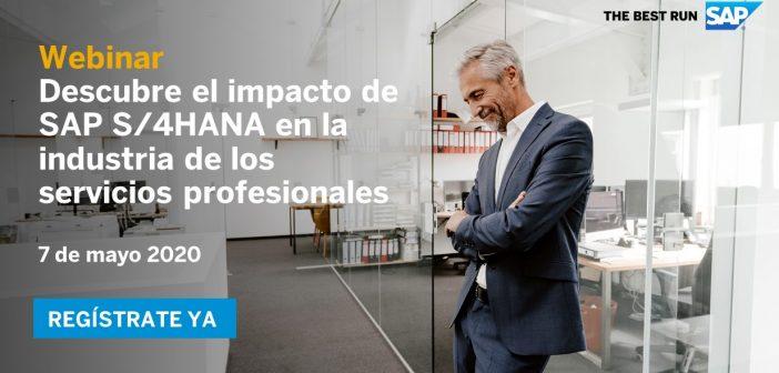 SAP: Así puedes convertir tu empresa en una líder de los servicios profesionales