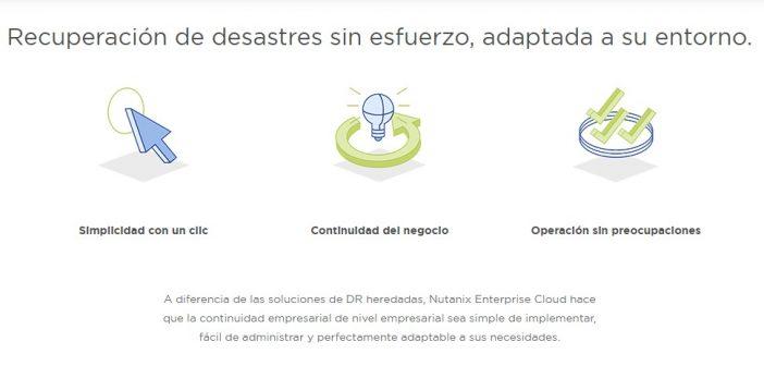 Nutanix presenta sus nuevas soluciones para mejorar las políticas de recuperación ante desastres de las empresas