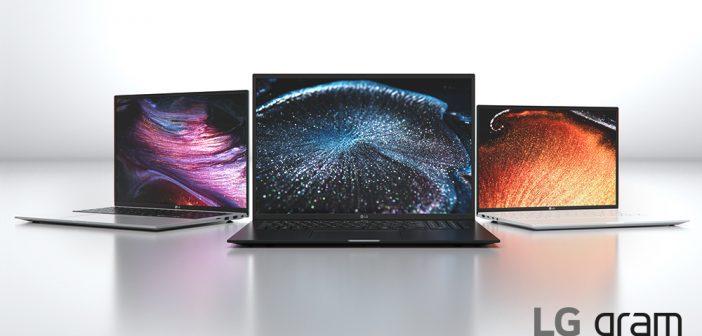 LG lanza nuevos LG gram: rendimiento, portabilidad y pantallas 16:10