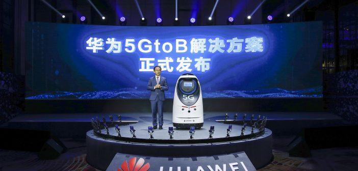 Huawei presenta su nueva solución 5GtoB